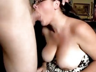 cute heavy lady worships to lick penis