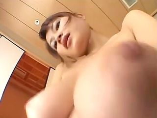 oriental please and huge boob bounce. pov