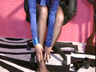 trinityproductions.com  assistant into stockings 1