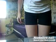 Super HOt Teen Gets naked on Webcam