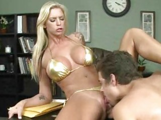 albino workplace whore drilling her way to a