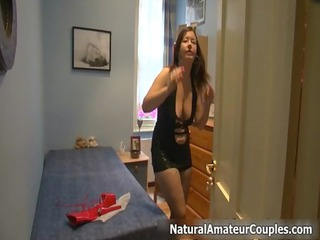 fat british babe with huge breast gets