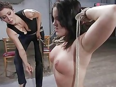 awesome hot lady dominated
