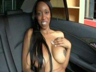 big breast car fuck