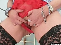 large boobs redhead angel dildoying furry pussy