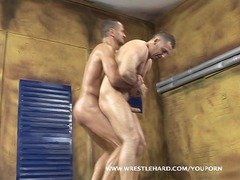 gay wrestler gang-banged