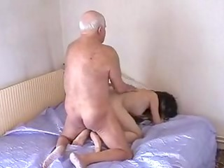elderly boy mireck at it afresh