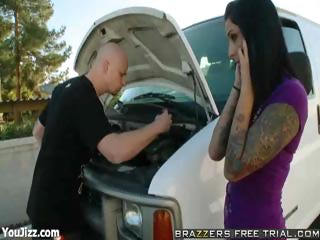 presley acquires punished for wrecking his car -