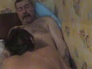 plump cougar gay acquires his boner sucked by