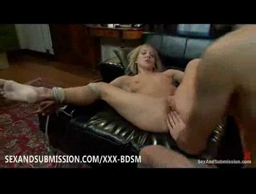 bondage albino chick gives gangbanging and arse