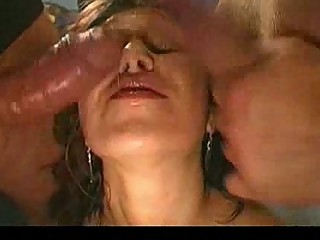 german goo lady obtains facials form another