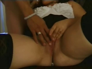 naughty heavy plump ex gf licking dick and