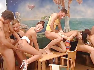 lunchroom orgy