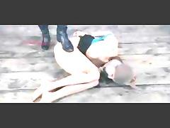 dike bdsm torture of slave emily