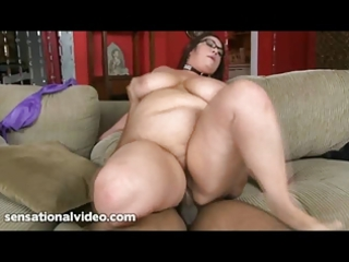 latin bbw rikki waters serves giant ebony guy and