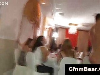 bride licks cfnm stripper at cfnm bachelorette
