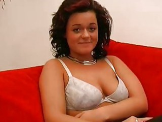 german amateur gets nude to underwear and brief