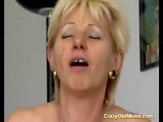 avid elderly mommy takes banged difficult