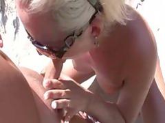 open-air sea coast cock sucking and pierce