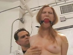 hot petite obtains suspended