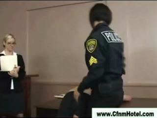 cfnm femdom chicks facesitting humiliated victim