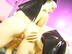 horny fucking nuns into latex