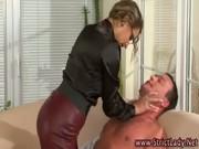 Naughty femdom hottie dominates