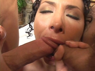 triple libidos one mouth...... .busy small girl!