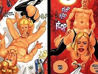 big bossom sexual bottom mouth comic