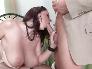 adult movie star gianna michaels gagging a giant
