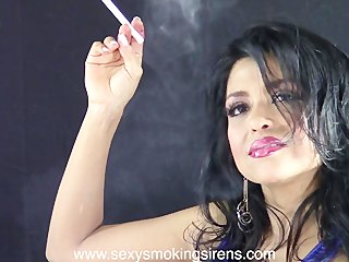 Melina Street Clothes Cigarette Sample Clip