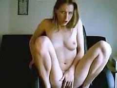 bleached webcam slut pussy rubbing until orgasm