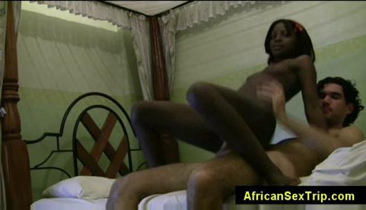 fresh babe swahili lady drives ashen penis into