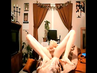 beautiful emo femboy jerks and squirts
