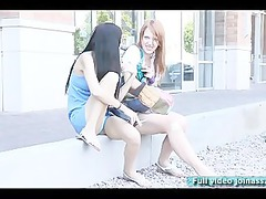 tina and lacie models do smoke funny time with a