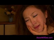 Milf Asian Woman Rapped Getting Her Mouth And