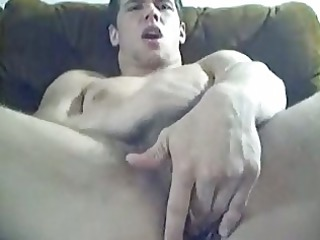 awesome gay stud fist his arse over webcam