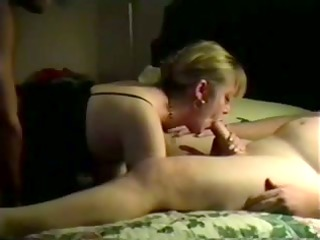 my slut housewife double drilled on camera