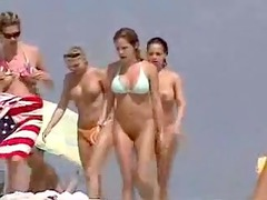 voyeur video into natures garb hotties at the sea