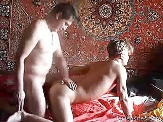 horny guy takes a alot of pleasure rimming