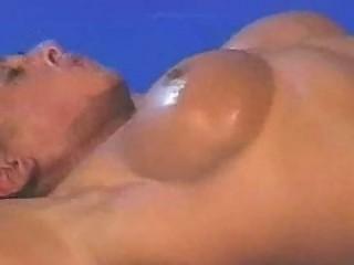 topless wrestling  fitness baroness vs feminine