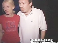 carla swallowing complete strangers white cream