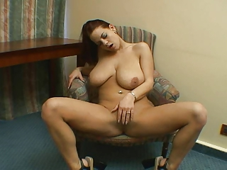 Sexy Brunette With Big Tits Solo.