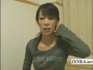 subtitled older  woman japanese bodybuilder going