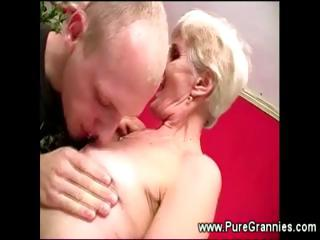 toothless elderly dick sucking