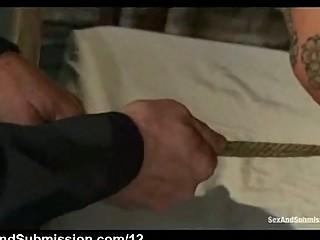 rope bondage eastern  oral gangbanged