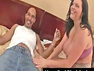 giant tits mature babe angelica gets facial from