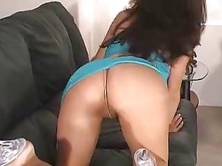 extremely impressive crissy on stockings &;