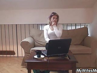 hubby caught cheating with her lady