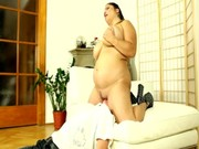 Fat slut wants more than just oral for her wet